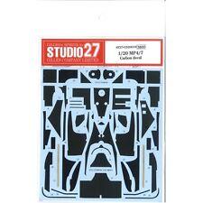 Studio27 CD20018 1:20 McLaren MP4/7 Carbon Decals forTAMIYA