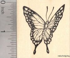 Swallowtail Butterfly Rubber Stamp G18207 WM