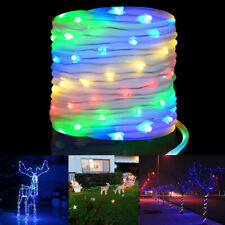 LED RGB 16 Colours USB Tube String Fairy Lights Waterproof Remote Control 20M UK