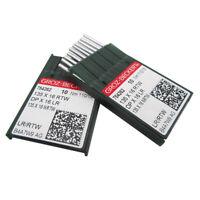 1 pack of 10 Needles GROZ-BECKERT B64 TVx64 UY192GLS UY120GLS FFG//SES 75//11bin84