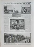 1902 Estampado Sentry Deber Blockhouse Fort Campbell Dopper Familia General
