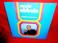 MARIO ABBATE Indifferentemente  LP 1970s ITALY MINT-