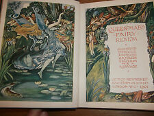 book. QUEEN mab's Hada realm. 1901. Arthur Rackham Reginald Savage Herbert Cole