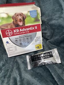 K9 Advantix II for Extra Large Dogs Over 55 lbs. One Month 1 Dose