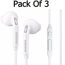 Pack Of 3 Samsung Galaxy S6 S7 Edge S8 and S8+ Handsfree Earphone Headphone
