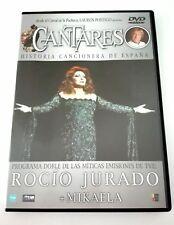ROCIO JURADO + MIKAELA - CANTARES  -  PROGRAMA DE  RTVE - LAUREN POSTIGO - DVD
