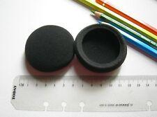 Coussinets de rechange en mousse p. oreillette casque 60 mm