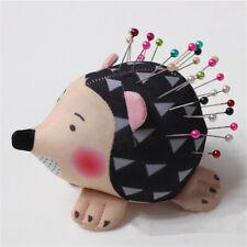 Hedgehog Shape Soft Fabric Pin Cushion Pin Quilting Holder DIY Sewing Craft Tool
