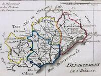 Hérault en 1794 Sète Béziers Montpellier Lodève Montagnac Agde Florensac Octon