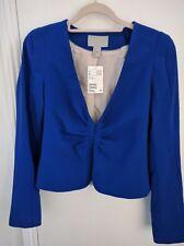 BNWT H&M Blue Tailored Suit Jacket - Size 8