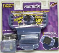 NEW NINTENDO GAMEBOY GAME BOY ADVANCE CHARGING POWER STATION CHARGE BATTERY 500X
