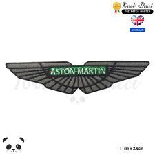 Aston Martin Motor Car Brand Logo Embroidered Iron On Sew On PatchBadge