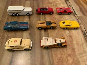 The Lindberg line toy car vehicle lot.