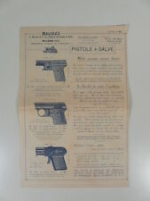C. Ravizza & C. Pistola a salve brevettata