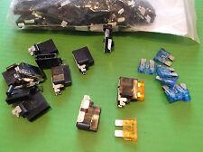 Auto Car Fuse Holder Automotive Fuses Right Angle Blade Fuseholder x 2pcs ONO