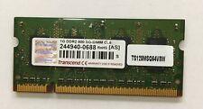 MEMORIA SO-DIMM Transcend 1Gb DDR2 800 Mhz PC2-6400 CL6