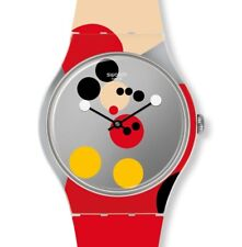Swatch New Gent Special Mirror Spot Mickey by Damien Hirst SUOZ290S Limitiert