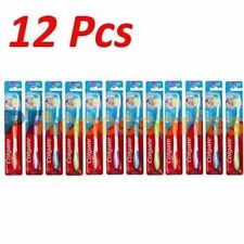 12 Pcs Colgate Extra Clean Toothbrush FIRM Full Head Bulk Lot Assorted Color