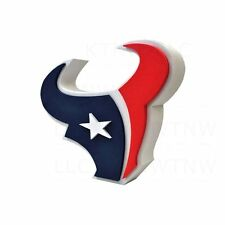 New NFL Houston Texans 3D Fan Foam Logo Holding / Wall Sign Made in USA