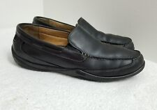 Johnston & Murphy Vibram- Men Shoes / Loafers, Black Genuine Leather, Size 11M