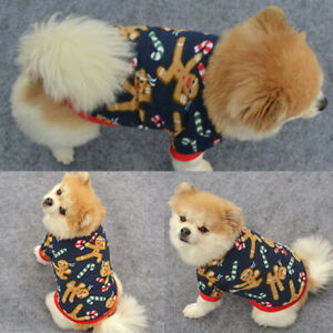 Pet Dog Cat Warm Fleece Vest Clothes Coat Puppy Shirt Sweater Winter Apparel New