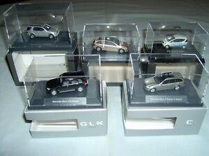 5 verschiedene Original Mercedes Modellautos 1:87 - Posten 3