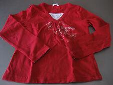 Shirt T-Shirt TCM 2in1 Gr. 122/128, Langarm, Rot mit Motiv Karibik, top