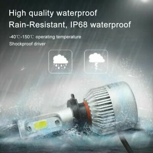 H4 9003 HB2 432W Hi/Lo LED Headlights Lamp Bulbs Conversion Kits 6000K HID