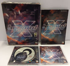 Computer Game Gioco Big Box PC CD-ROM ITALIANO Play ITA - X BEYOND The Frontier