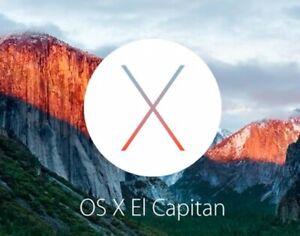 OSX El Capitan (10.11.6),  16 Go, clé USB Bootable