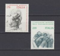 S17519) Italy MNH 1979 Telecommunication Fair 2v Art