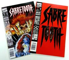 Marvel Sabretooth (1993) #1-2 Rare Newsstand/ Upc Variants Lot Ships Free!