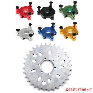 "1"" (25mm) / 1.5"" (38mm) CNC Adapter 32T - 44T Sprocket Fits 80cc Motorized Bike"