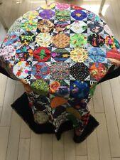 "UNIQUE Handmade Crib Quilt ""To Grandmother's House We Go"" - 44"" x 56"""
