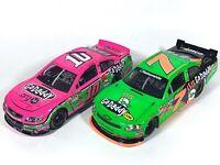Danica Patrick Prototype NASCAR Die-Casts Lot Of 2, Go Daddy 2011 & Pink 2013