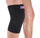 Sports Knee Support Wrap Brace Patella Protector Pad Sleeve Basketball Black SX