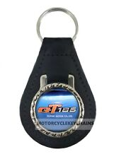 SUZUKI GT 185 GT185 Schlüsselring Leder