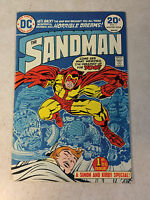 SANDMAN #1 SIMON, KIRBY, 1974, MASTER OF NIGHTMARES, 1ST BRONZE APPEARANCE VF/NM