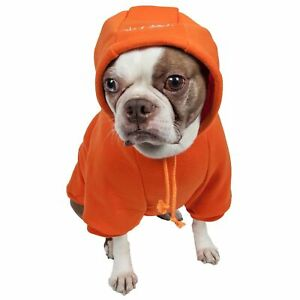 PetLife Central Fashion Plush Cotton Pet Hoodie Hooded Sweater