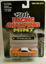 1970 '70 DODGE SUPER BEE RACING CHAMPIONS MINT RC DIECAST 2017 RARE