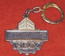 porte-clé Keychain ISECO avec émaux enamel