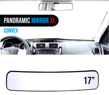 Mirror Xl Vision Panoramic Rear View 17 inches Wide Angle Convex Car Truck Suv