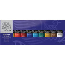 Winsor & Newton Artisan Water Mixable Oil 10 x 37ml Artists Paint Tube Box Set