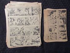 1960's LOT of 111 THE PHANTOM by Falk & Barry Clipped Newspaper Strips FN 8x10