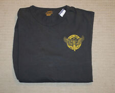 Polo Ralph Lauren Big and Tall Mens Black Motor Club L/s T-shirt Size XLT