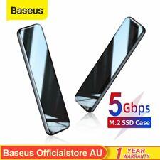"Baseus Hard Drive Enclosure M.2 SSD SATA TO USB 3.0 1.8"" External Storage Case"