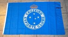 Cruzeiro Esporte Clube Flag Banner Bandeira Bandera 3x5 ft Brasil Futbol Soccer