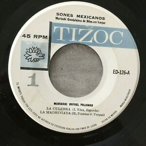 MARIACHI RAFAEL PALOMAR: Sones Mexicanos (MEX EP Tizoc ED-126 / NM)