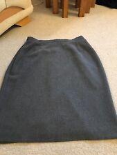 Debenhams Size 16/24 L Grey Lined Smart Skirt