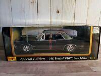 Maisto 1965 Pontiac GTO Hurst Edition 1:18 Scale Diecast Model Car Special Ed.